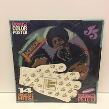 "MICHAEL JACKSON 5 14 Greatest Hits 12"" PICTURE DISC LP SEALED w/ GLOVE & POSTER"