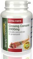 Ginseng Coreano 2000mg 120 Compresse E361