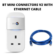 More details for  bt mini connectors v2 version 2 1000mbps  1gb powerline adapters home plugs