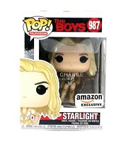 New Funko Pop The Boys Starlight Bodysuit 987 Amazon Exclusive Vinyl Figure MINT