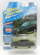 2018 Johnny Lightning *MIJO'S CLASSIC GOLD* Black 1987 Buick GRAND NATIONAL GNX