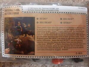1993 vintage Hasbro GI JOE International Action Force Mail Away overseas GI Joe