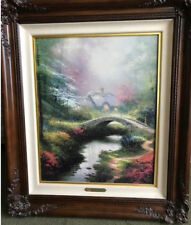 Thomas Kinkade Brookside Hideaway Framed #1770/3950