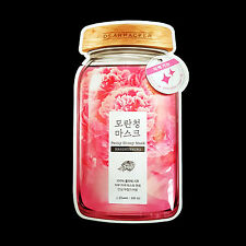 DEAR PACKER Peony Honey Mask Brightening Facial Mask Sheet Skincare Products