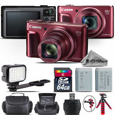 Canon PowerShot SX720 Compact Digital Camera RED 20.3MP 40x NFC / WiFi -64GB Kit