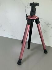 Vanguard Nivelo 214PK Compact Travel PINK Tripod with Reversing Column