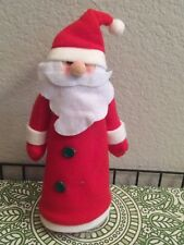 Santa Clause Christmas TreeTopper on Plastic Cone by Greenbrier International