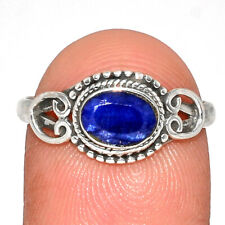 Sapphire 925 Sterling Silver Jewelry Ring s.8 AR173579 364P