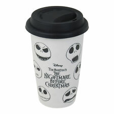 Nightmare Before Christmas Faces of Jack en céramique tasse de voyage Sally Pumpkin King
