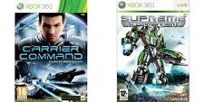 Carrier COMANDO Gaea... Missione & COMANDANTE SUPREMO Xbox 360 PAL