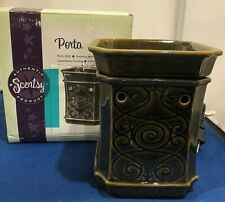 "Authentic SCENTSY FULL SIZE WAX WARMER - ""PORTA"" -  New In Box"