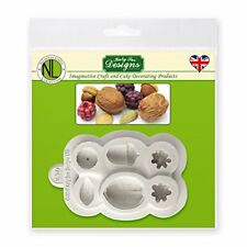 Katy Sue Designs Berries & Nuts Silicone Sugarcraft Mould