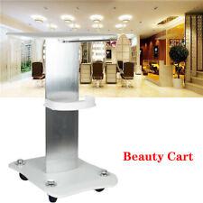 Rolling Trolley Cart Beauty Salon SPA Storage Equipment Machine Alluminum Alloy