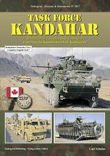 TANKOGRAD 7017 TASK FORCE KANDAHAR VEHICLES OF THE CANADIAN ISAF CONTINGNET