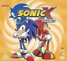 Sonic X : Vol 2 (DVD, 2005) Region 4 Children's DVD Rated G Used Good Condition