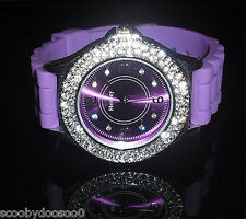Ladies Henley Watch  - Funky Purple