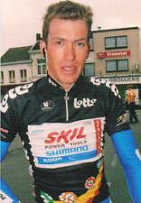Carte postale Coups de Pédales belge Dominique Cornu leader Tour de Belgique2010