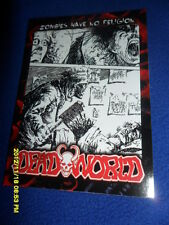 """2012 BREYGENT DEAD WORLD ZOMBIE CARD """" ZOMBIES HAVE NO RELIGION  """" #10"""