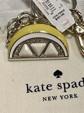 Kate Spade NWT Lemon Keychain
