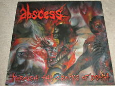 abcès - Through the Fissures of Death - NEUF - LP Record