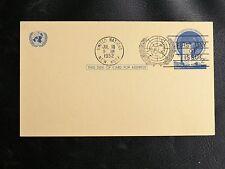 USA ENTIER POSTAL UNITED NATIONS Oblitéré  18 JUILLET 1952 - TBE - 1er JOUR