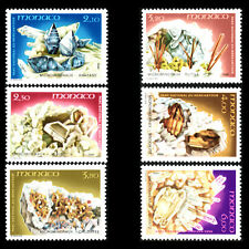 Monaco 1990 - Minerali IN Mercantour National Park - Sc 1723/6 MNH