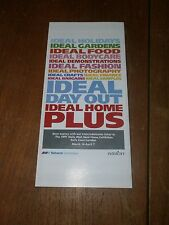 British Rail Network SouthEast/InterCity Ideal Home Exhibition leaflet 1991