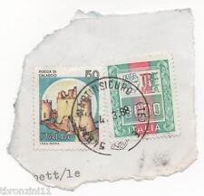 FRANCOBOLLO ALTI VALORI 3000 LIRE ORDINARIA 1979 + FRANCOBOLLO 50 LIRE DA BUSTA
