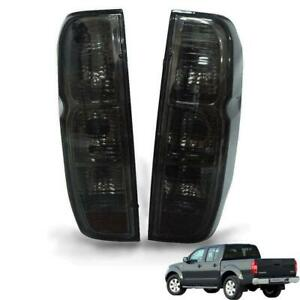 For Nissan Frontier Navara D40 2005-13 Tail Light Rear Lamp Black Smoke Lens