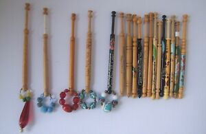 A Collection of  Lace Bobbins..Wooden, Cornish & More