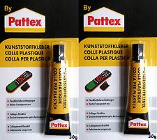 2 x Pattex Spezialkleber Kleber Klebstoff Kunststoffkleber Modelbaukleber 60 gr.