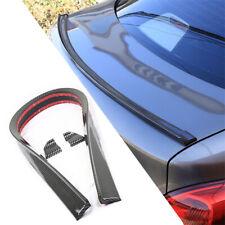 Rubber Car Roofline Trunk Lid Tail Spoiler Lip Moulding 4.5cm 1.5m Carbon Look
