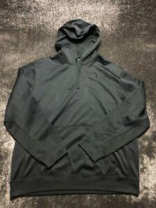 Nike Therma-Fit Men's Black Hoodie Jacket Size 2XL XXL Running Workout