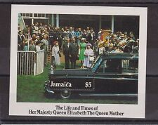 THE LIFE AND TIMES OF THE QUEEN MOTHER STAMP SHEET JAMAICA SG MS629