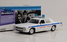1974 Dodge Monaco Blues Brothers Chicago Police Department Movie 1:24 Greenlight