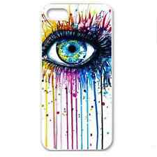 Unique Vibrant Colourful Eye Hard Case for iPhone 5 / 5S / SE All Seeing Eye