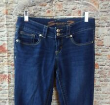 Seven 7 Womens Jeans Skinny Jegging Dark Wash Soft Stretch Stone Wash Sz 2