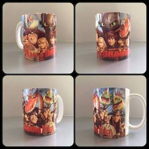 how to train your dragon toothless personalised mug cup gift present hiccup :)