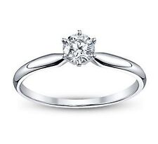 0.50 Ct. Round Diamond Engagement Ring Solitaire Not Enhanced Appraised
