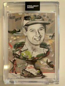 Topps Project 2020 Ted Williams Artist Andrew Thiele #158 PR 4404 Boston Red Sox