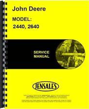 John Deere 224 0000127F 0 2440 2640 Tractor Service Manual (Jd-S-Tm1142)