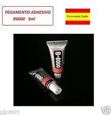 PEGAMENTO ADHESIVO B6000 3ml para moviles, tablet, joyeria, juguetes, lcd