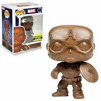 Funko Pop Captain America #584 Wood Deco Entertainment Earth Exclusive