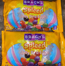 Brach's ~ Spiced Jelly Beans Bird Eggs Easter 2-Bags 14 oz. ~ Expires 08/2022