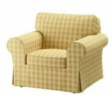 Ikea cover set for Ektorp Armchair in Skaftarp Yellow  303.398.20