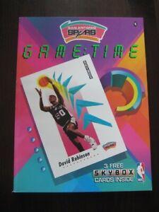San Antonio Spurs 1991-92 Official Gameday Program-NEW