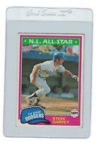STEVE GARVEY 1981 TOPPS Los Angeles DODGERS MLB Baseball Trading Card #530 NL