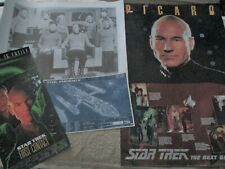 4 STAR TREK POSTERS PHOENIX, PICARD, ORIGINAL CAST AND FIRST CONTACT