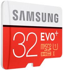 Samsung 32GB Micro SD Card Evo+ Class 10 With Adapter SW
