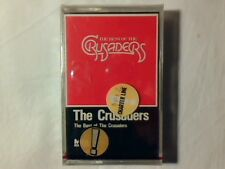 CRUSADERS The best of mc cassette k7 GERMANY RARISSIMA SIGILLATA VERY RARESEALED